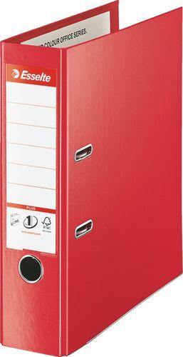 Segregator Vivida dźwigniowy A4 80mm czerwony