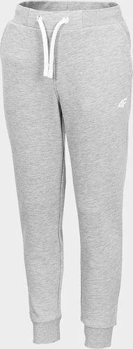 4f Spodnie dresowe 4F HJZ20-JSPDD001 25M HJZ20-JSPDD001 25M szary 128 cm