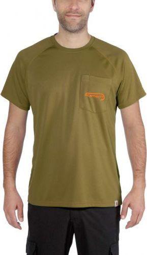 Carhartt Koszulka Wędkarska Force Fishing Graphic Short-Sleeve T-Shirt FIR GREEN