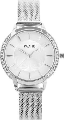 Zegarek Pacific ZEGAREK DAMSKI PACIFIC X6167 - siatka - silver (zy660a) uniwersalny
