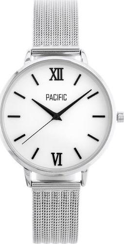Zegarek Pacific ZEGAREK DAMSKI PACIFIC X6172 - silver (zy657a) uniwersalny