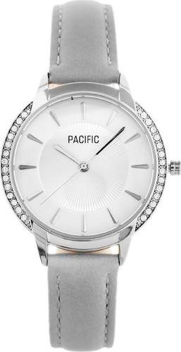 Zegarek Pacific ZEGAREK DAMSKI PACIFIC X6167 - pasek - szary (zy661a) uniwersalny