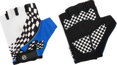 Accent Rękawiczki dziecięce Accent Tommy biało-niebieskie L/XL L / XL