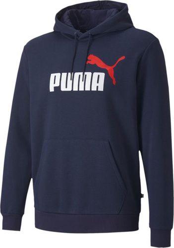 Puma Puma ESS 2 Col Hoody FL Big Logo 598014-06 S Granatowe
