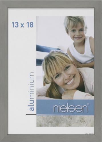 Ramka Nielsen Design C2, 13x18, aluminiowa, szara (63251)