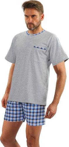 Sesto Senso Bawełniana piżama męska JASIEK z krótkim rękawem Sesto Senso M