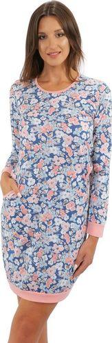Sesto Senso Bawełniana damska koszula nocna AWA Sesto Senso XL