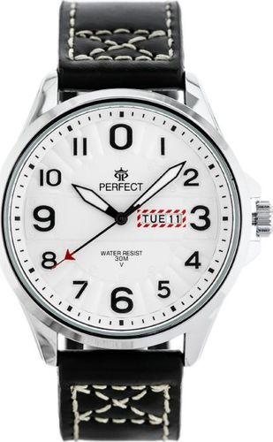 Zegarek Perfect ZEGAREK MĘSKI PERFECT W275 (zp300a) uniwersalny