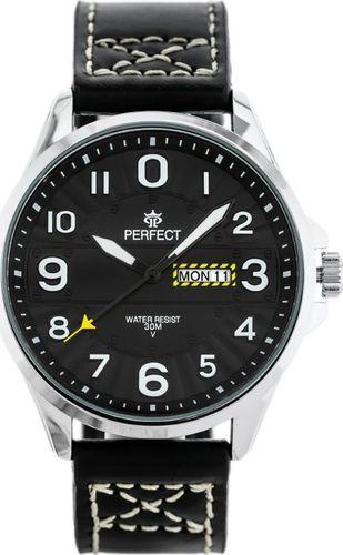 Zegarek Perfect ZEGAREK MĘSKI PERFECT W275 (zp300b) uniwersalny