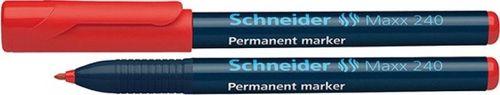 Schneider MARKER PERMANENTNY SCHNEIDER MAXX 240, CZERWONY