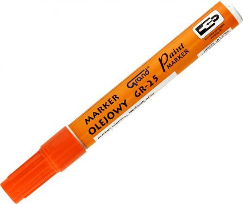 Grand Marker Olejowy, Neonowy Pomarańczowy (AD695GR)