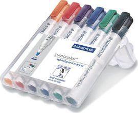 Staedtler Markery Do Tablic Lumocolor 6 Kolorów