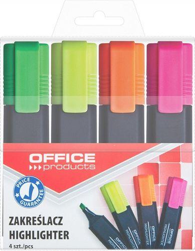 Office Products Zakreślacze 4 Kolory