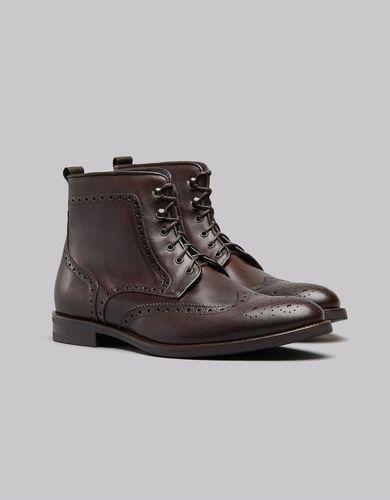 BORGIO Ciemnobrązowe buty męskie trzewiki b701 rozmiar 41