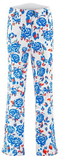 Poivre-Blanc Spodnie narciarskie Poivre Blanc Stretch Ski Pants 273944 blue flower Rozmiar:S-36