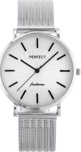 Zegarek Perfect ZEGAREK DAMSKI PERFECT E334 - siatka (zp932d)