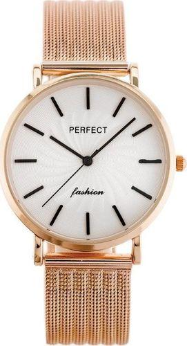 Zegarek Perfect ZEGAREK DAMSKI PERFECT E334 - siatka (zp932f)