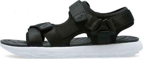4f Sandały damskie czarne r. 36 (H4L21-SAD002-21S)