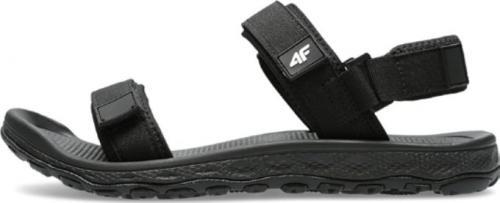 4f Sandały męskie czarne r. 42 (H4L21-SAM001-20S)