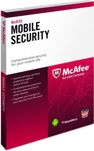 McAfee Mobile Security Premium 1 stanowisko 1 rok klucz ESD (931606)