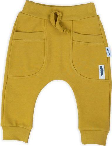 NICOL Spodnie pumpy musztardowe Indian Nicol 98