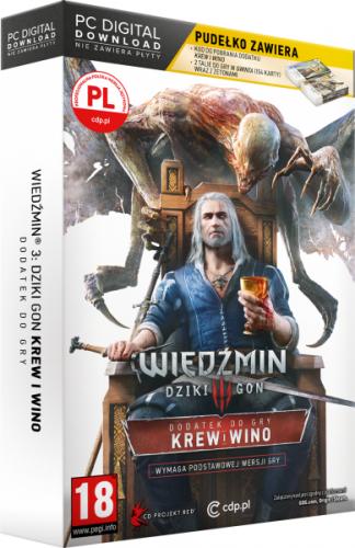 Wiedźmin 3: Dziki Gon - Krew i Wino - Edycja Limitowana