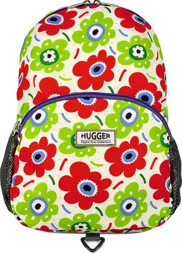 Hugger Plecak dla dziewczynki Hugger, Totty Tripper Medium, wiek 4-8 lat, wzór Petals