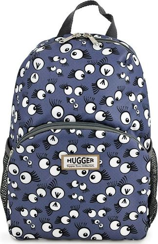Hugger Plecak dla dzieci Hugger, Totty Tripper Medium, wiek 4-8 lat, wzór Googly Eyes