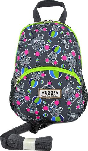 Hugger Plecaczek dla dzieci Hugger, Totty Tripper Small, wiek 1-3+ lat, wzór Elephants