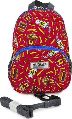 Hugger Plecaczek dla dzieci Hugger, Totty Tripper Small, wiek 1-3+ lat, wzór Burger and Fries