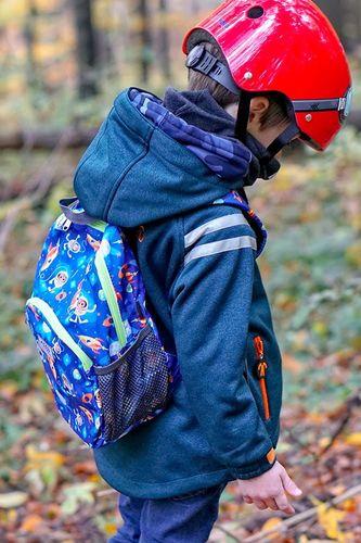 Hugger Plecak dla dzieci Hugger, Totty Tripper Medium, wiek 4-8 lat, wzór Space Cadet