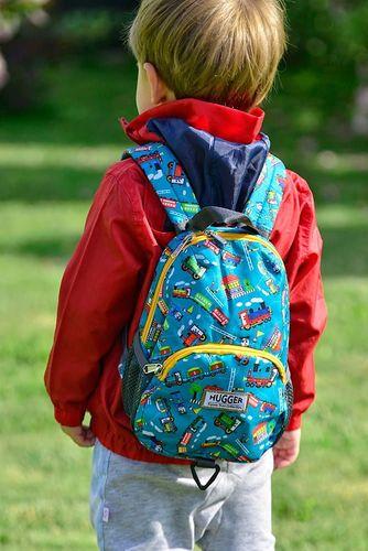 Hugger Plecaczek dla dzieci Hugger, Totty Tripper Small, wiek 1-3 lat, wzór Choo Choo