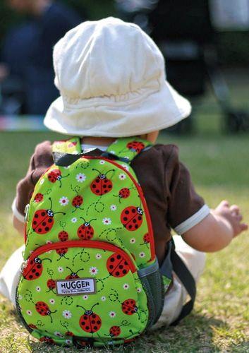Hugger Plecaczek dla dzieci Hugger, Totty Tripper Small, wiek 1-3 lat, wzór Ladybirds