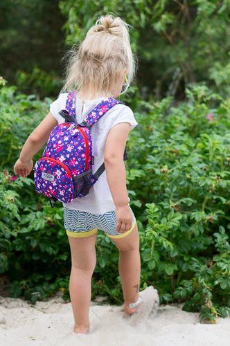 Hugger Plecaczek dla dziewczynki Hugger, Totty Tripper Small, wiek 1-3 lat, wzór Tinky Minky Mouse