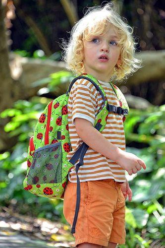 Hugger Plecak dla dzieci Hugger, Totty Tripper Medium, wiek 4-8 lat, wzór Ladybirds