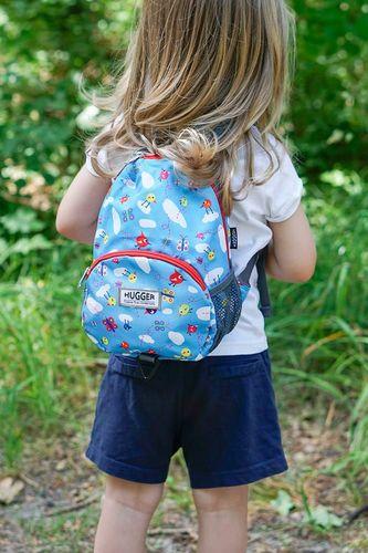 Hugger Plecaczek dla dzieci Hugger, Totty Tripper Small, wiek 1-3+ lat, wzór Flying in Cotton
