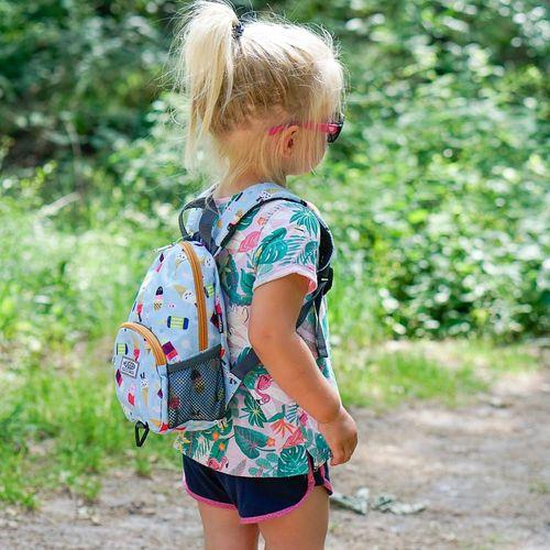 Hugger Plecaczek dla dzieci Hugger, Totty Tripper Small, wiek 1-3+ lat, wzór Ice Lollies
