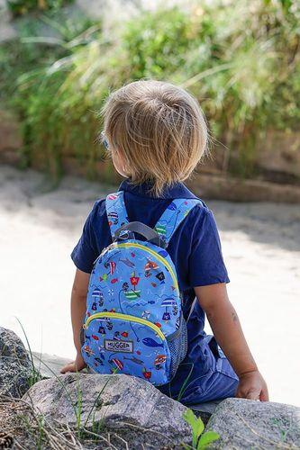 Hugger Plecaczek dla dzieci Hugger, Totty Tripper Small, wiek 1-3+ lat, wzór Fishing Pirates