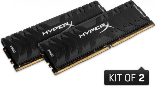 Pamięć HyperX Predator DDR4, 2x4GB, 3000MHz, CL15 (HX430C15PB3K2/8)