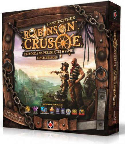 PortalGames Robinson Crusoe: Przygoda na przeklętej wyspie - Edycja Gra Roku