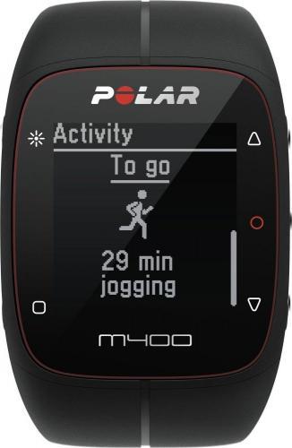 Polar Zegarek M400 HR czarny