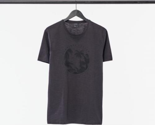 Outhorn T-shirt męski HOL21-TSM649 ciemny szary r. M