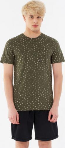Outhorn T-shirt męski HOL21-TSM638 Oliwkowy r. XL