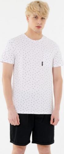 Outhorn T-shirt męski HOL21-TSM638 BIAŁY r. L