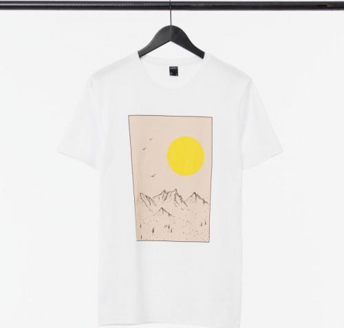 Outhorn T-shirt męski HOL21-TSM604 biały r. L
