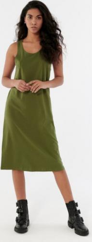 Outhorn Sukienka damska HOL21-SUDD600 Khaki r. S (SUDD600)