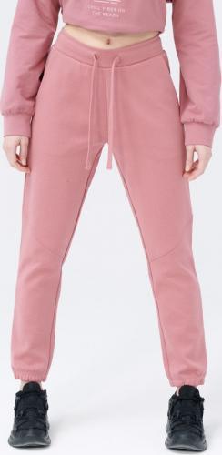 Outhorn Spodnie damskie HOL21-SPDD613 Ciemny Róż r. S
