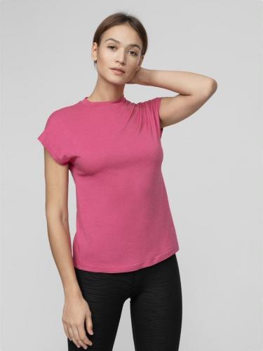 4f T-shirt damski H4L21-TSD038 fuksja r. M
