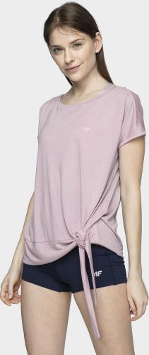 4f T-shirt damski H4L21-TSD023 jasny fiolet r. L