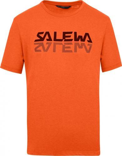 Salewa Koszulka męska Reflection Dri-Rel M s/s Tee red orange melange r. L
